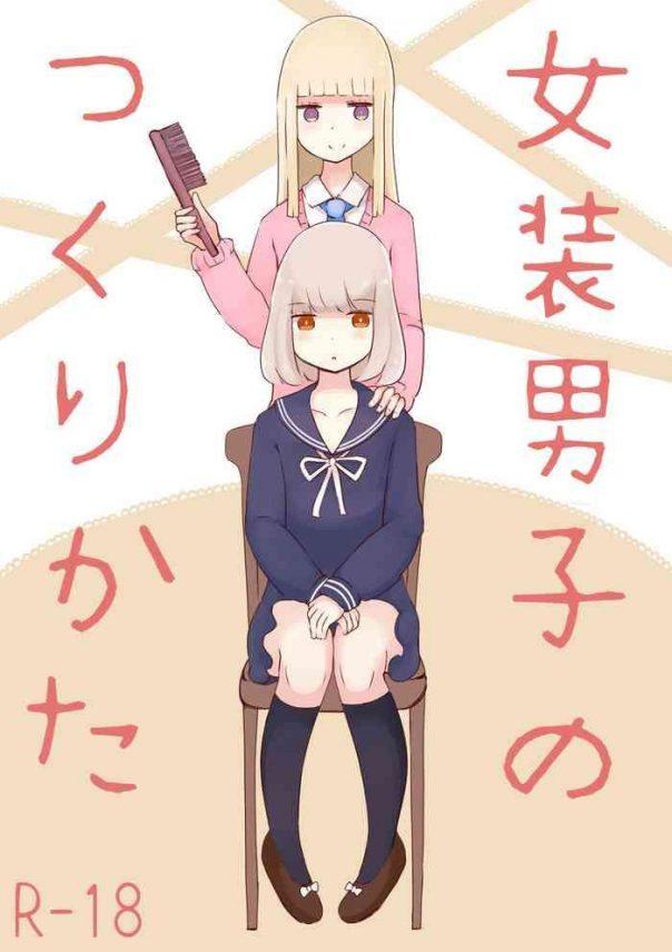 josou danshi no tsukurikata cover