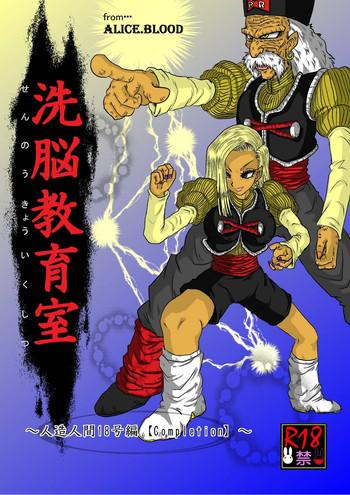 alice blood sennou kyouiku shitsu jinzou kan 18 gou hen dragon ball z cover